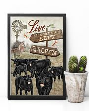 Black Angus poster 11x17 Poster lifestyle-poster-8
