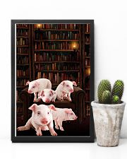 Pig-Book 24x36 Poster lifestyle-poster-8