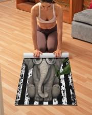 elephant Yoga Mat 24x70 (vertical) aos-yoga-mat-lifestyle-21