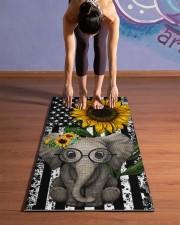 elephant Yoga Mat 24x70 (vertical) aos-yoga-mat-lifestyle-25