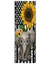 elephant Yoga Mat 24x70 (vertical) front