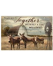Poster Donkey 17x11 Poster front