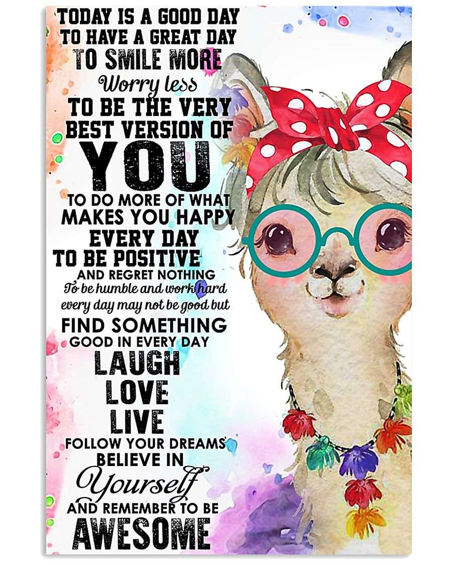 Poster Llama 11x17 Poster