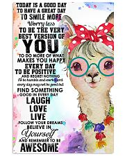 Poster Llama 11x17 Poster front
