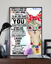 Poster Llama 11x17 Poster lifestyle-poster-2