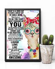 Poster Llama 11x17 Poster lifestyle-poster-8
