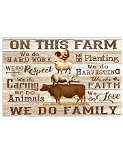 On this Farm 36x24 Poster front