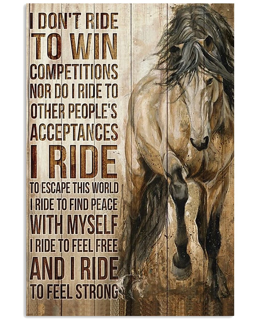 Poster Horse 11x17 Poster