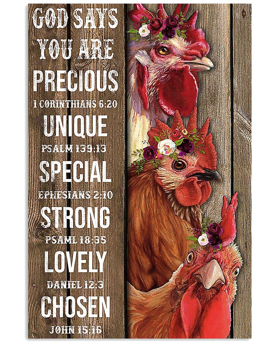 Poster chicken  11x17 Poster