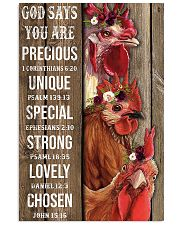 Poster chicken  11x17 Poster front