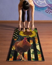 chicken Yoga Mat 24x70 (vertical) aos-yoga-mat-lifestyle-25