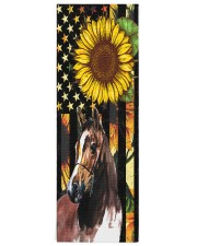 horse yoga Yoga Mat 24x70 (vertical) front
