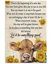 Let it be something good 24x36 Poster front