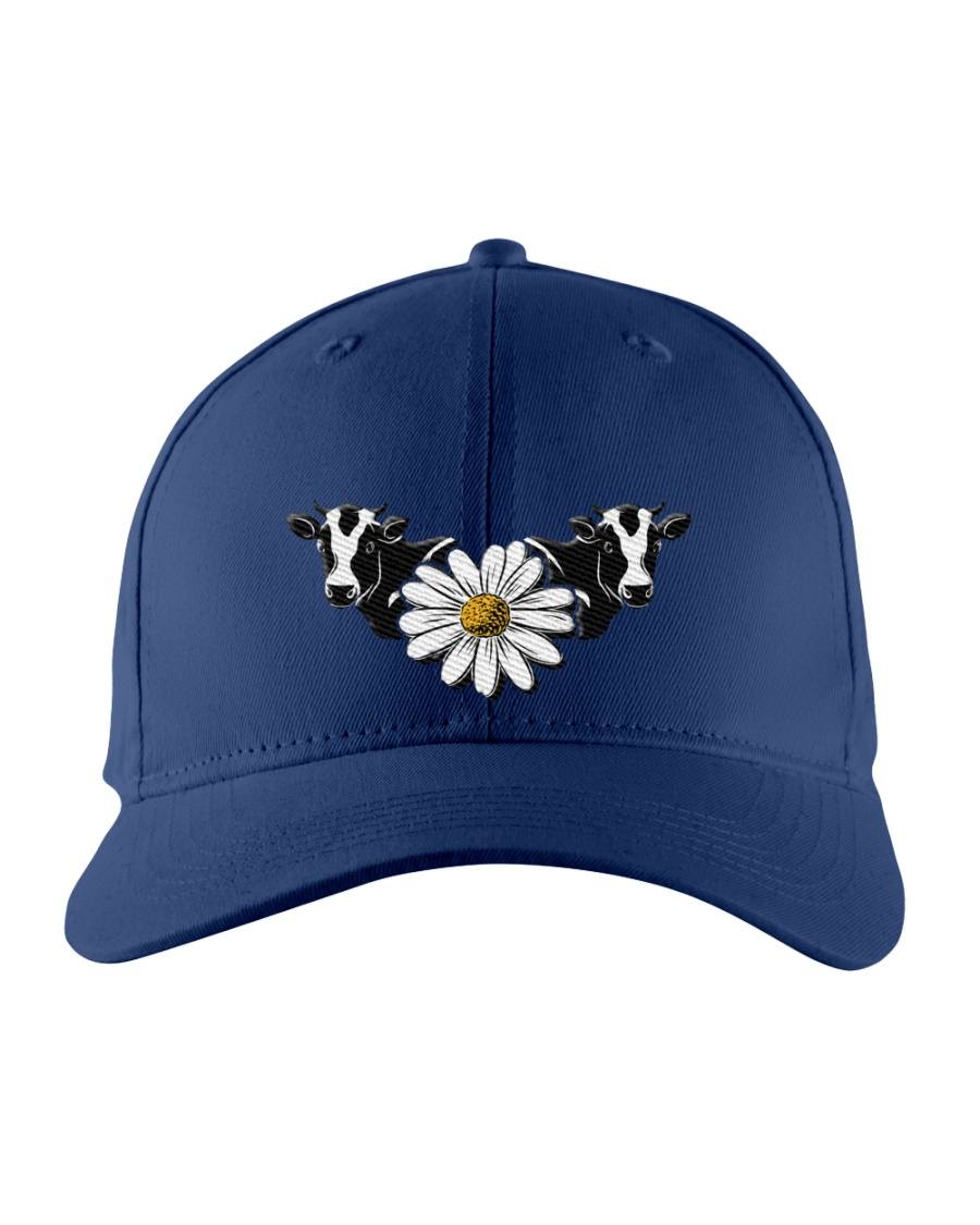 Cow Embroidered Hat