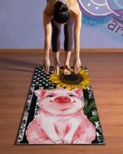Pig Yoga Mat 24x70 (vertical) aos-yoga-mat-lifestyle-25