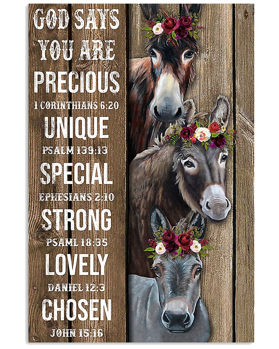 poster Donkey 11x17 Poster