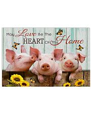 Poster pig 36x24 Poster front