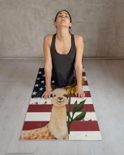 llama Yoga Mat 24x70 (vertical) aos-yoga-mat-lifestyle-17