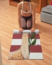 llama Yoga Mat 24x70 (vertical) aos-yoga-mat-lifestyle-21