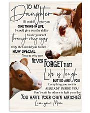 CANVAS - TO MY DAUGHTER 24x36 Poster front