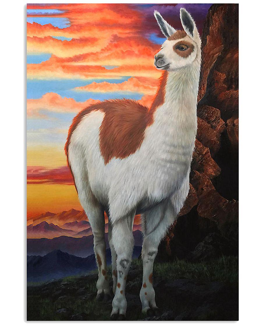 Llama 24x36 Poster
