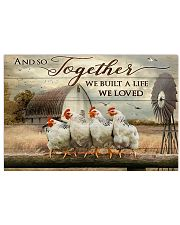 Chicken poster 36x24 Poster front