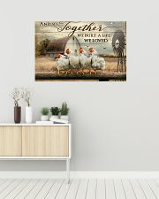 Chicken poster 36x24 Poster poster-landscape-36x24-lifestyle-01