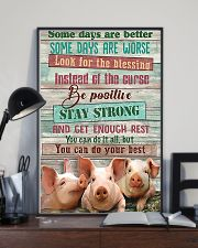 Some day a better-poster Pig 11x17 Poster lifestyle-poster-2