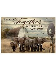 Elephant 17x11 Poster front