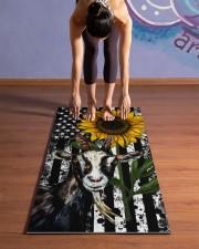 Goat Yoga Mat 24x70 (vertical) aos-yoga-mat-lifestyle-25