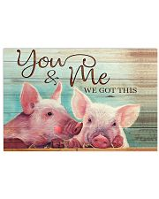 Poster Pig 17x11 Poster front