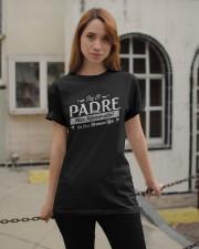 El Padre Mas Afortunado Classic T-Shirt apparel-classic-tshirt-lifestyle-19
