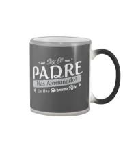 El Padre Mas Afortunado Color Changing Mug color-changing-right
