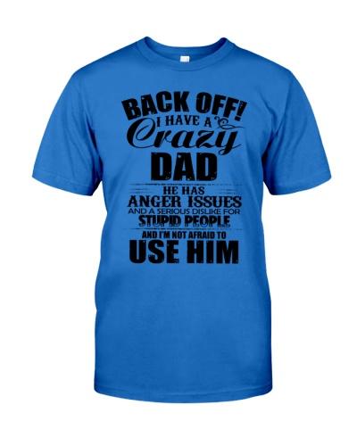 BACK OFF I HAVE A CRAZY DAD