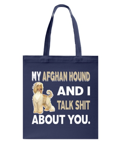 MY AFGHAN HOUND AND I TALK ABOUT YOU