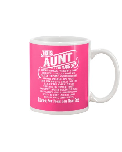 This Aunt Is Made Of Funny Aunt Tee