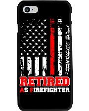 Retired Firefighter Phone Case tile