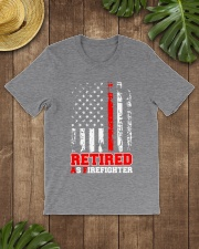 Retired Firefighter Classic T-Shirt lifestyle-mens-crewneck-front-18