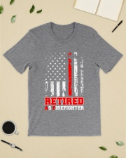 Retired Firefighter Classic T-Shirt lifestyle-mens-crewneck-front-19