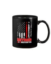 Retired Firefighter Mug tile