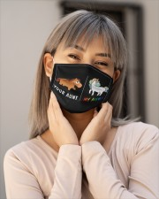 VAK033 Your Aunt My Aunt Cloth face mask aos-face-mask-lifestyle-17
