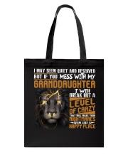 Funny Lion Gift  Tote Bag tile