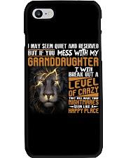 Funny Lion Gift  Phone Case tile