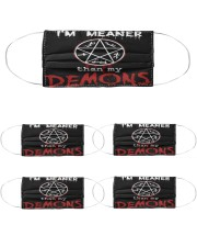 200724NMN-001-AD Cloth Face Mask - 5 Pack front
