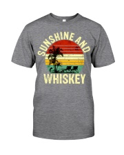 Vintage Sunshine And Whiskey  Classic T-Shirt front