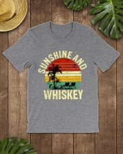 Vintage Sunshine And Whiskey  Classic T-Shirt lifestyle-mens-crewneck-front-18