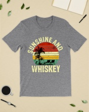 Vintage Sunshine And Whiskey  Classic T-Shirt lifestyle-mens-crewneck-front-19
