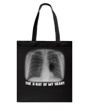 THE X-RAY OF MY HEART Tote Bag tile