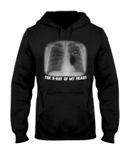 THE X-RAY OF MY HEART Hooded Sweatshirt tile