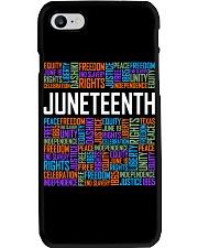 Juneteenth  Phone Case tile